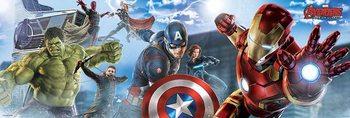 Avengers 2: L'Ère d'Ultron - Skyline Affiche
