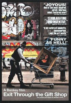 Banksy Street Art - Exit Through The Giftshop Affiche