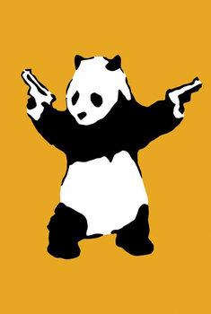 Banksy Street Art - Panda Affiche