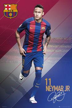 Barcelona - Neymar 16/17 Affiche