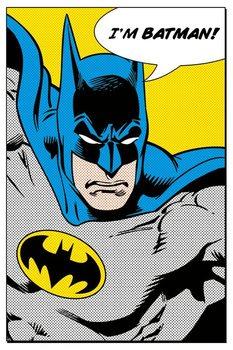 BATMAN - i'm batman Affiche