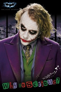 BATMAN - joker solo Affiche