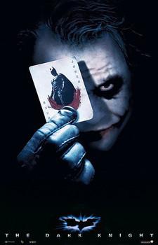 BATMAN THE DARK KNIGHT - joker card Affiche