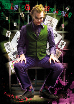 Batman The Dark Knight: Le Chevalier noir - Joker Jail Affiche