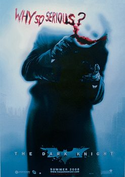 BATMAN: The Dark Knight - Le chevalier noir - Joker Why So Serious? (Heath Ledger) Affiche