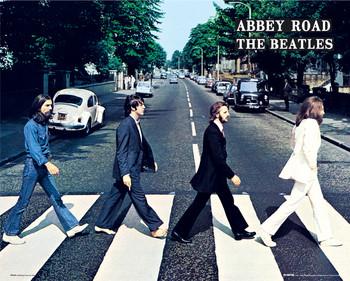 Beatles - abbey road Affiche