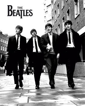 Beatles - in london Affiche
