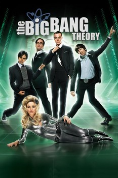 BIG BANG THEORY - barbarella Affiche