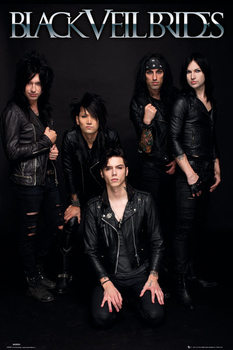 Black veil brides - band Affiche