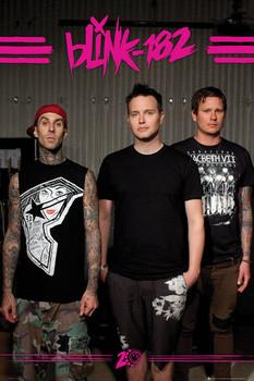 Blink 182 - euro tour Affiche