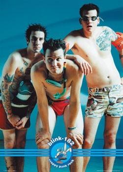 Blink 182 - swimwear Affiche