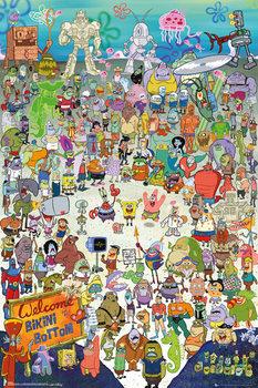 Bob l'éponge - Cast Affiche