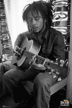 Bob Marley - Guitar Affiche
