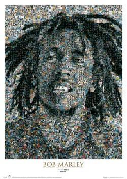 Bob Marley - mosaic II. Affiche