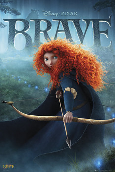 BRAVE - teaser Poster
