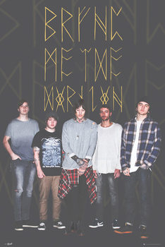 Bring Me The Horizon - Group Black Affiche