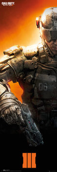 Call of Duty Black Ops 3 - Soldier Affiche