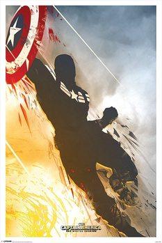 Captain America: Le Soldat De l'Hiver - One Sheet Affiche