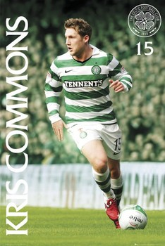 Celtic - kris commons 2010/2011 Affiche