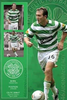 Celtic - mcgeady Affiche