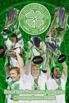 Celtic - spl champs 07/08 Affiche