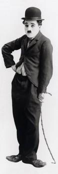 Charlie Chaplin - tramp Affiche