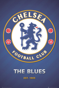 Chelsea - club crest 2013 Affiche