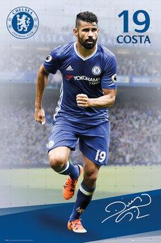 Chelsea - Costa 16/17 Affiche