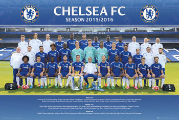 Chelsea FC - Team Photo 15/16 Affiche