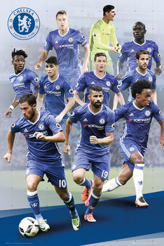 Chelsea - Players 16/17 Affiche