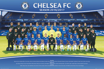 Chelsea - Team 2016/2017 Affiche