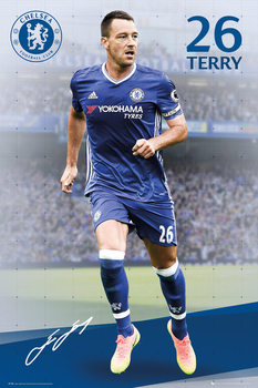 Chelsea - Terry 16/17 Affiche