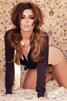 Cheryl Cole - bed Affiche
