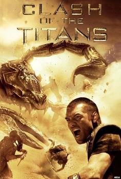 CLASH OF THE TITANS - scorpion Affiche