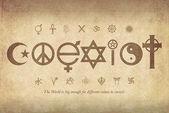 Coexist - Maxi Poster Affiche