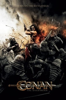 CONAN THE BARBARIAN - battlefield Affiche