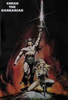 CONAN THE BARBARIAN  Affiche