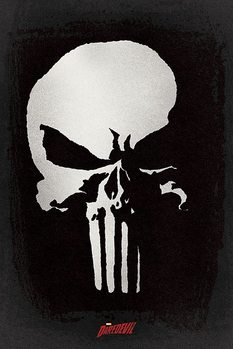 Daredevil - Punisher Affiche