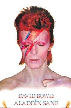 David Bowie - Aladdin Sane Affiche
