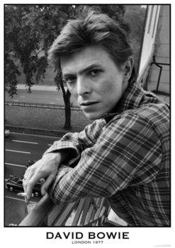 David Bowie - London 1977 Affiche