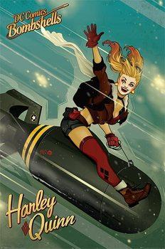 DC Comics Bombshells - Harley Quinn Bomb Affiche