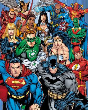 DC Comics - Cast Affiche
