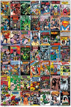 DC COMICS - comic covers Affiche