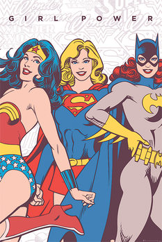 DC Comics - Girl Power Affiche
