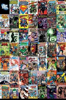 DC COMICS - montage Affiche