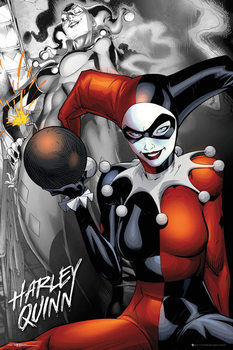 DC Comics - Quinn The Bomb Affiche