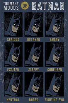 DC Originals - The Many Moods Of Batman Affiche