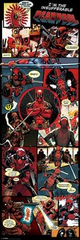 Deadpool - Panels Affiche