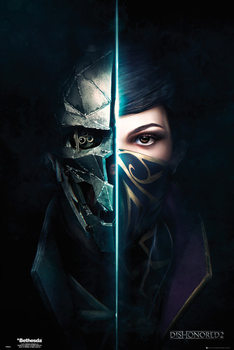 Dishonored 2 - Faces Affiche