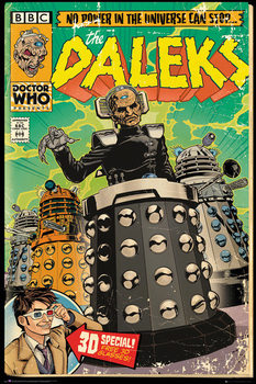 Doctor Who - Daleks Comic Affiche